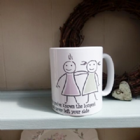 Friendship Mug Personalised With Your Own Words